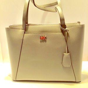 NWT Michael Kors Leather Maddie Tote Shoulder Bag